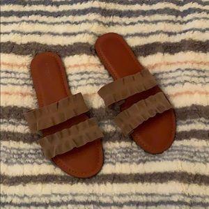 American Eagle Slide On Sandals